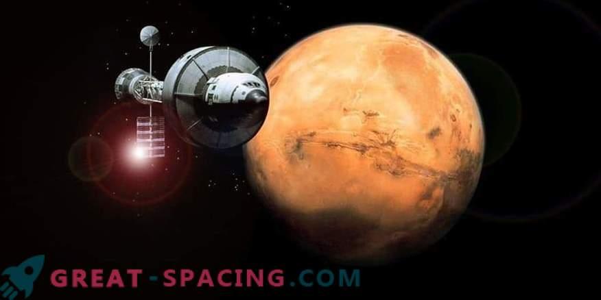 Vuelo a Marte - billete de ida