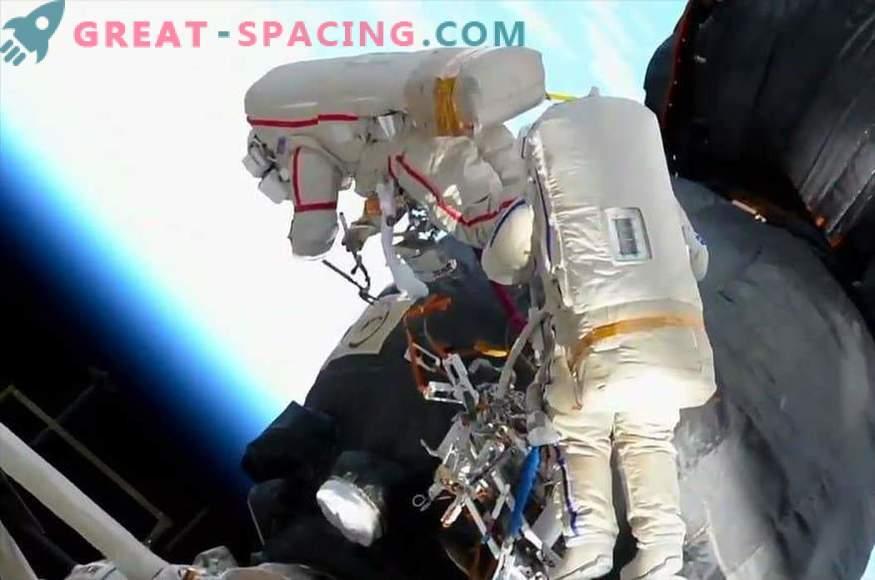 ¿Cómo estudiaron los astronautas el agujero en la Soyuz