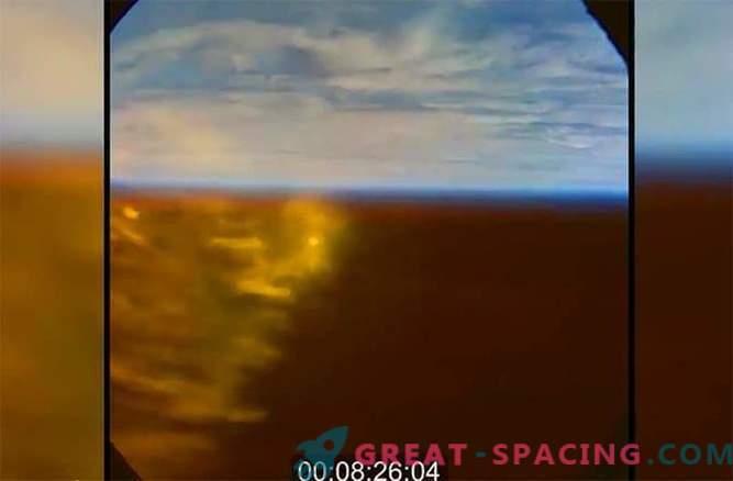 Orion. Entrada a la atmósfera de la Tierra: Video