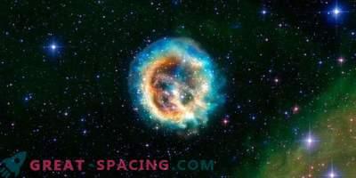 Explosión de una estrella masiva moribunda