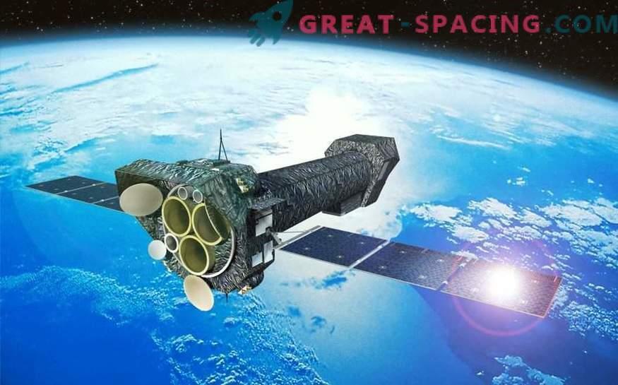 ¡El material cae en un agujero negro a una velocidad de 90,000 km / s!