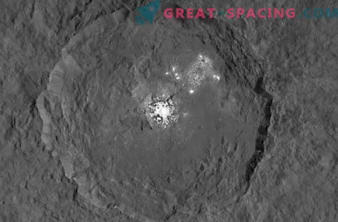 La sonda de la NASA investiga lugares misteriosos de Ceres