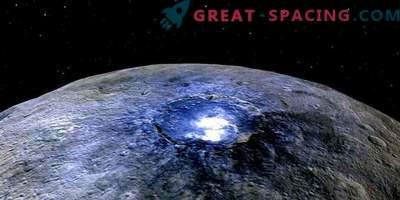 Ceres esconde un enorme tanque de hielo