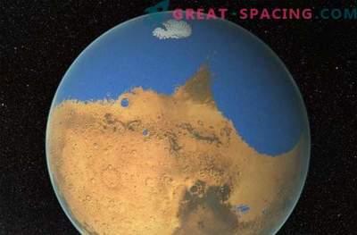 El enorme tsunami cambió el paisaje en Marte