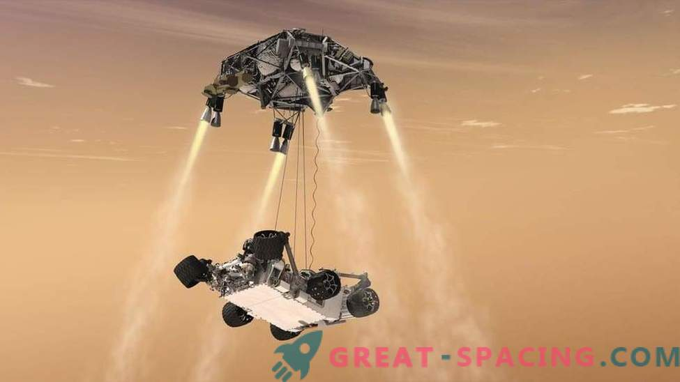 ¿Se romperá el futuro rover marciano al aterrizar?