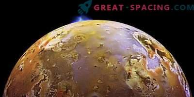 La misión Juno fotografió las emisiones volcánicas en el satélite Io