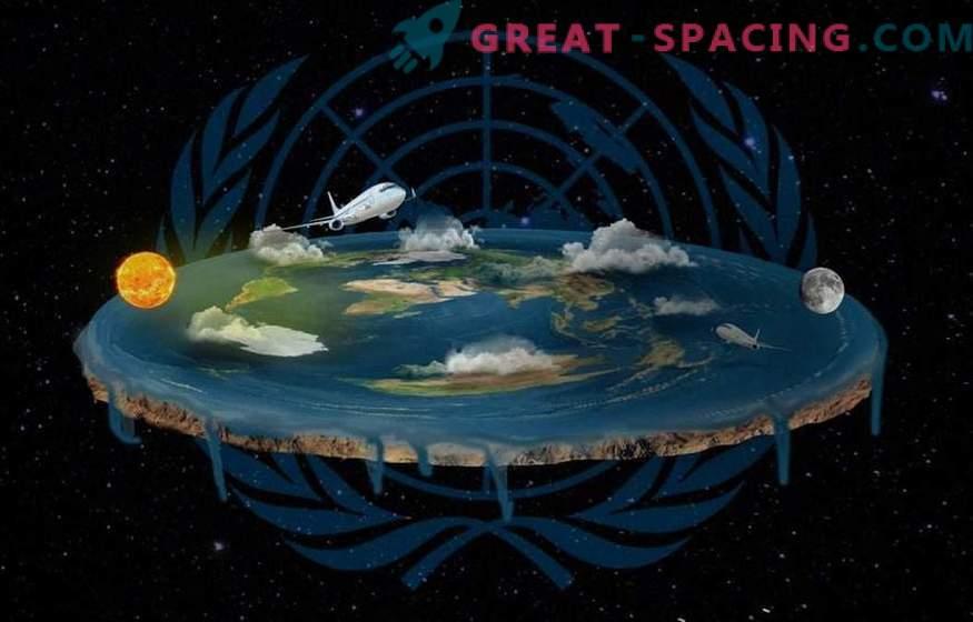 ¿Qué pasaría si nuestra Tierra realmente fuera plana