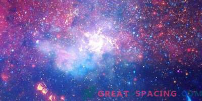 Hermosos destellos del centro de la galaxia