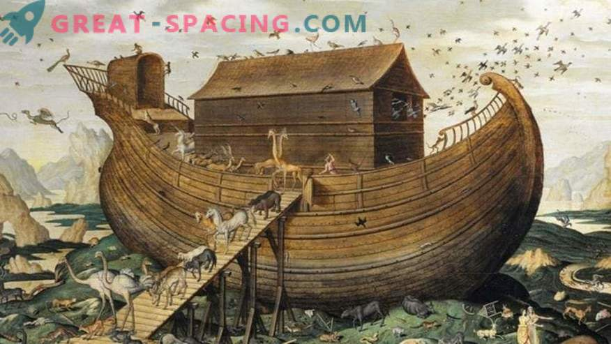 El astronauta de la NASA trató de encontrar el arca de Noé