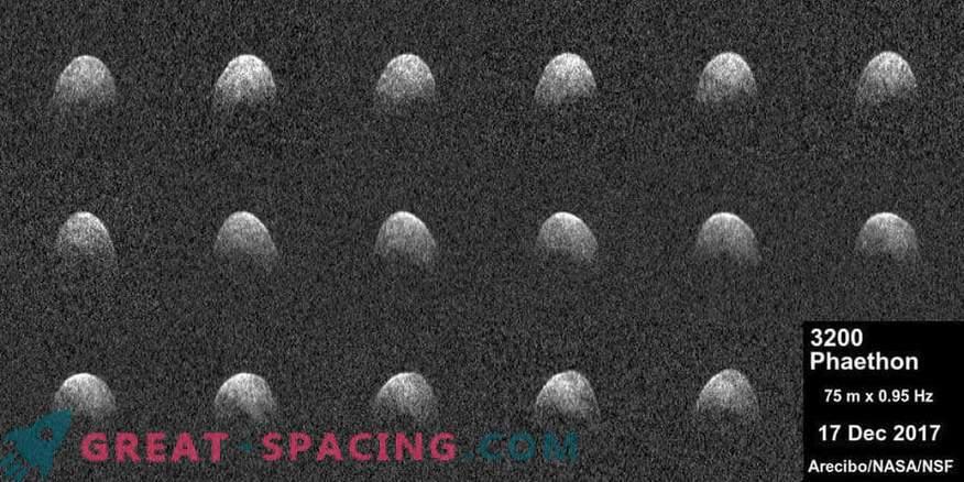 El radar de Arecibo recibe imágenes de faetón