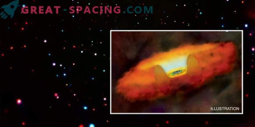 Los primeros agujeros negros podrían aparecer en flashes