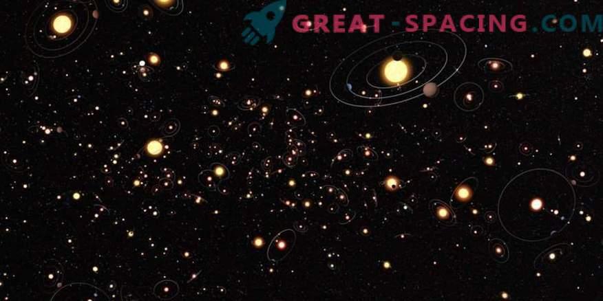 Choque de dos mundos! Accidente a gran escala en un sistema de estrellas alienígenas