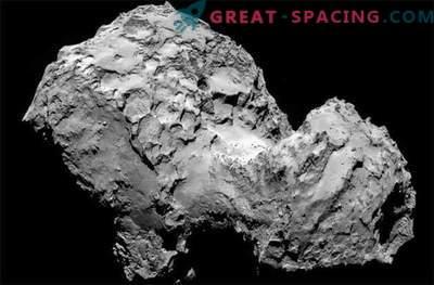 El cometa Rosetta está cubierto de polvo esponjoso