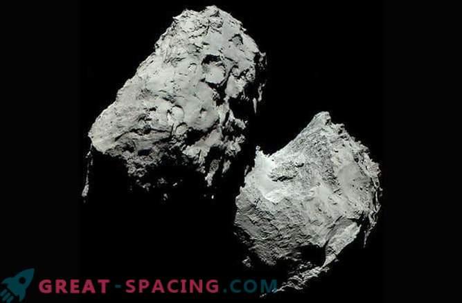 Color real del cometa 67P / Churyumov-Gerasimenko