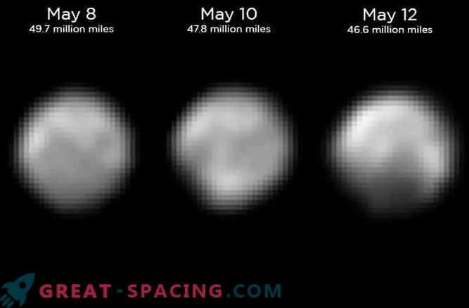 Últimas fotos de New Horizons: Pluto desde el nuevo lado