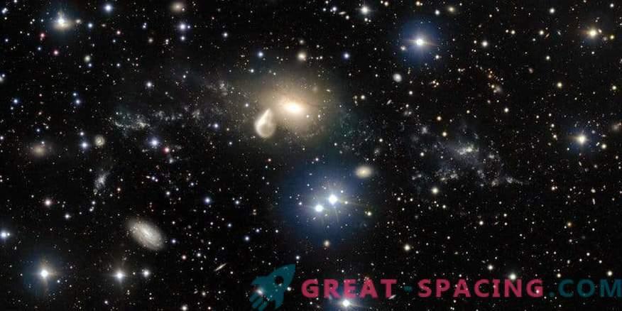El telescopio Hubble encontró accidentalmente una nueva galaxia