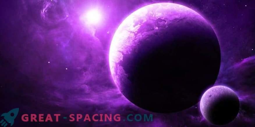 La vida extraterrestre puede ser violeta