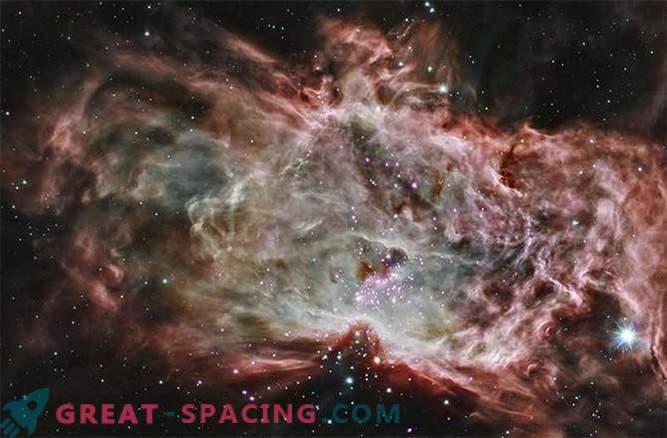El telescopio espacial detectó un cúmulo de estrellas extraño
