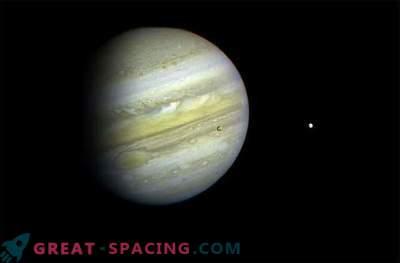 Una piedra espacial se estrelló contra Júpiter