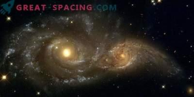 Канибализъм сред галактиките