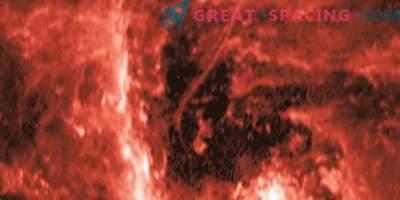 Un hilo cósmico examina un agujero negro galáctico