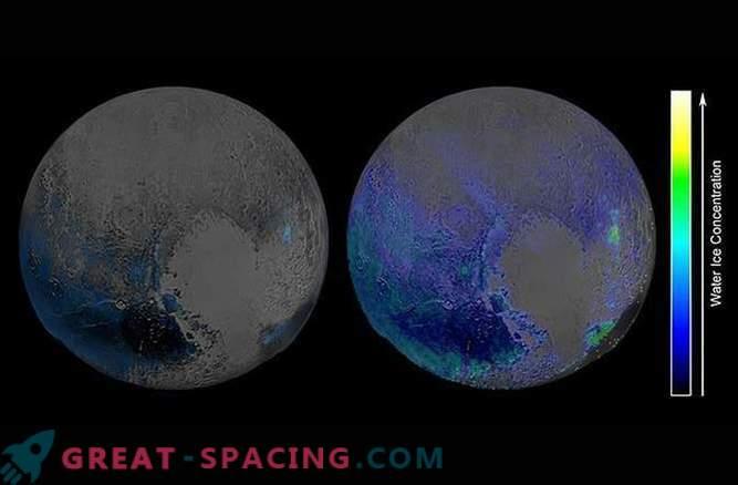 La cantidad de hielo de agua que cubre Plutón sorprende a los investigadores