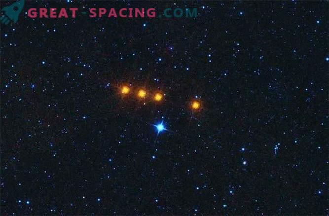 El movimiento del asteroide Oddball fue rastreado usando un telescopio infrarrojo