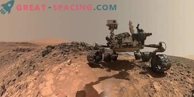 Ново видео от Марс: rover Любопитството напуска Вера Рубин