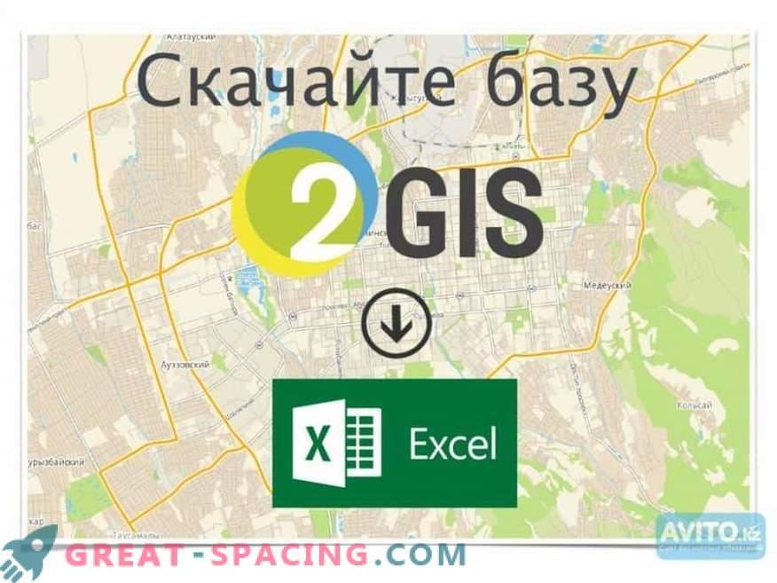 Base de datos 2GIS: datos completos sobre organizaciones y ciudades