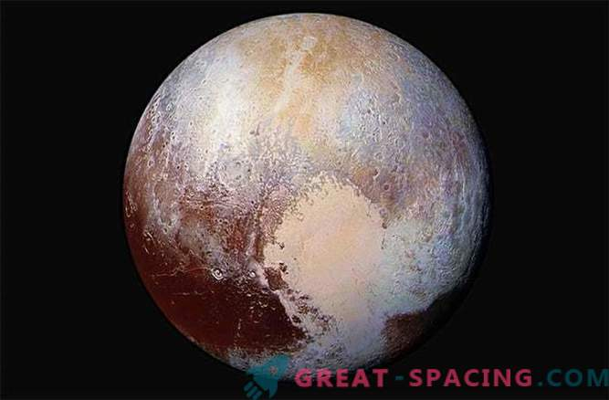 Las fotos de Plutón muestran la compleja geología del planeta enano