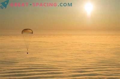 La tripulación de la ISS aterrizó con éxito