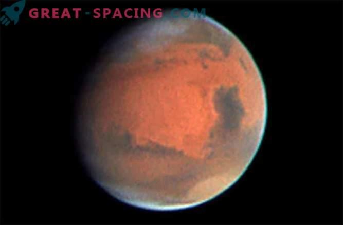 Los volcanes podrían calentar Marte lo suficiente para formar agua líquida