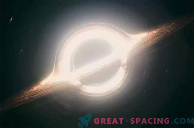 El agujero negro en la película Interstellar es la mejor representación de un agujero negro en la ciencia ficción