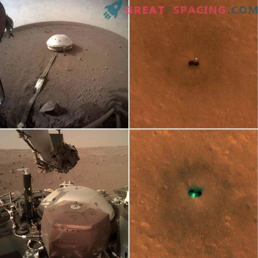 Nuevas fotos del InSight Martian Apparatus