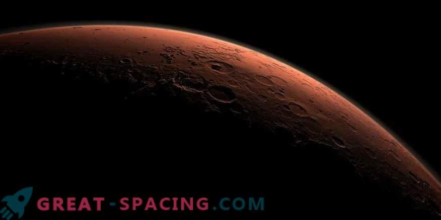 Cráter marciano de Eberswalde en 3D