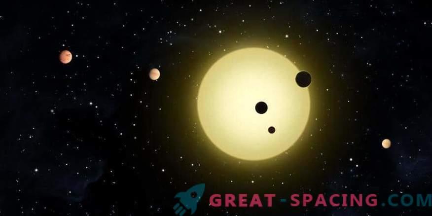 Los exoplanetas se ven como guisantes en una vaina