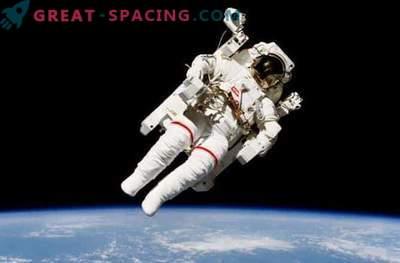 Fascinante paseo por la estación espacial: foto