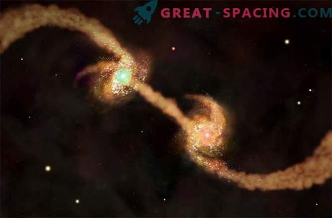 Dieta supermasiva: los agujeros negros absorben la materia oscura