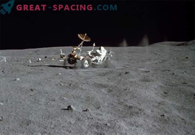 Se encontró el sitio de aterrizaje de Appollo 16