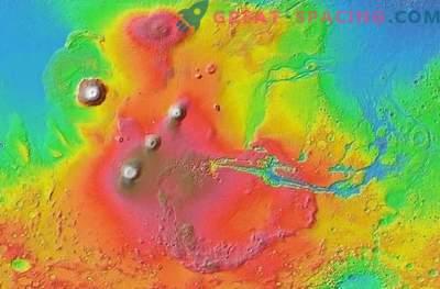 Volcán Monster cambió radicalmente a Marte
