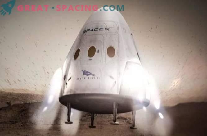 Max: SpaceX podrá lanzar personas a Marte en 8 años