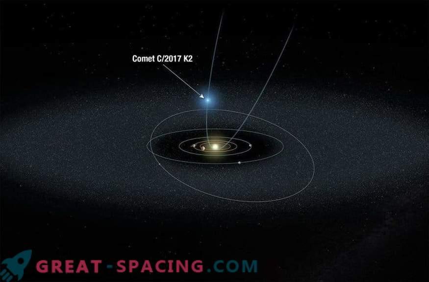 Los científicos están observando un cometa distante primitivo