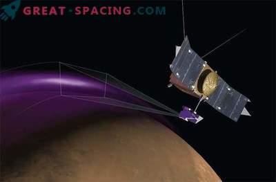 Marte está envuelto en una misteriosa nube de polvo