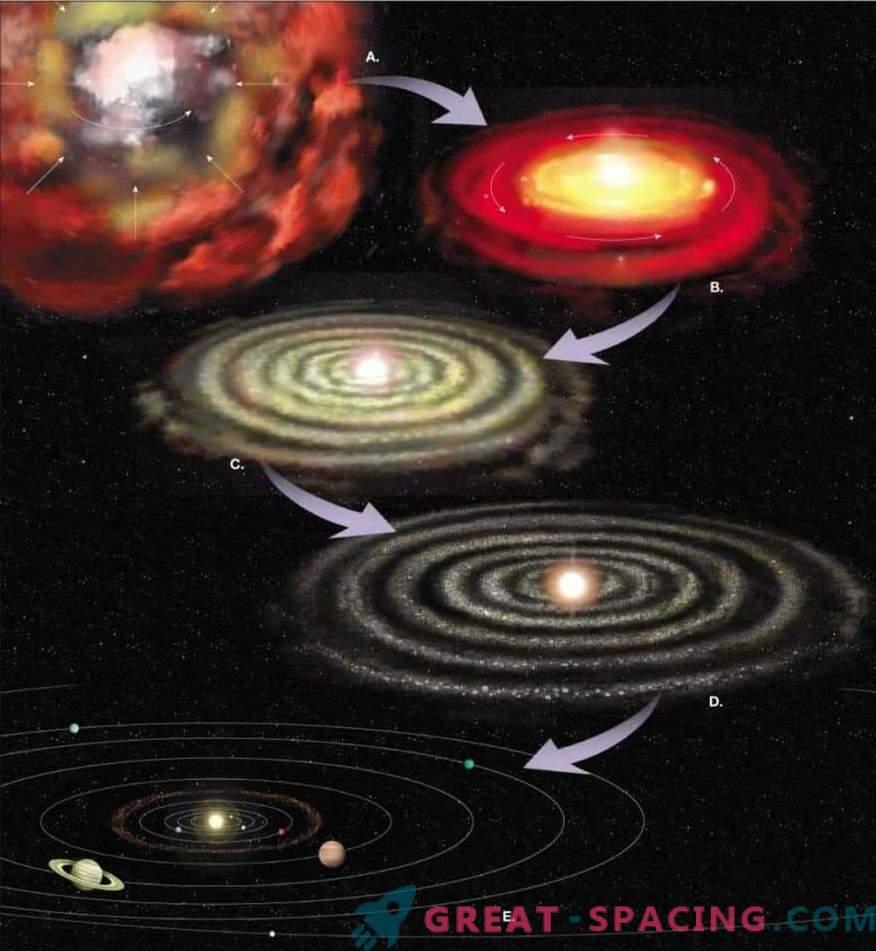 Tras el nacimiento y la evolución del Sistema Solar