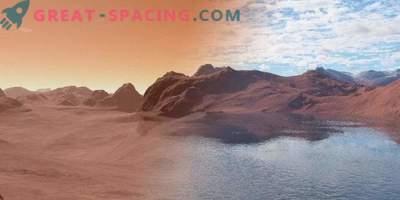 El agua en Marte se absorbe según el principio de una esponja
