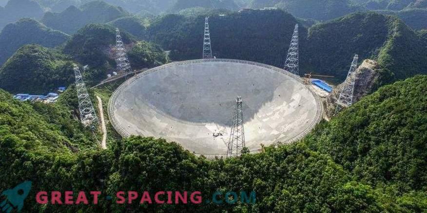 China ha creado el telescopio más grande para buscar vida extraterrestre