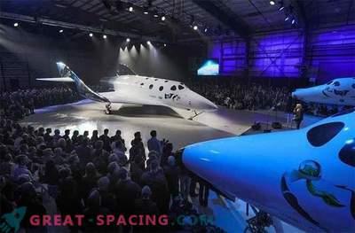 Presentación galáctica de una nueva nave espacial