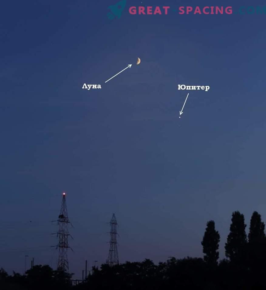 Qué planetas se pueden ver en el cielo el 23 de abril de 2019