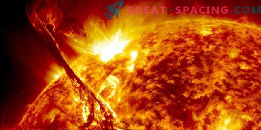 Ciclo de vida completo de las llamaradas solares