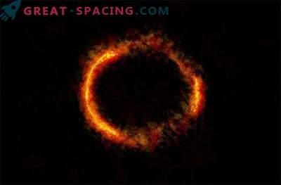 ALMA captura la impresionante vista del anillo de Einstein.
